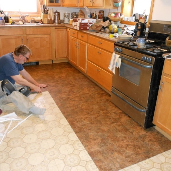 Kitchen Floor Installation Home Design